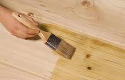 pengolesan obat kayu