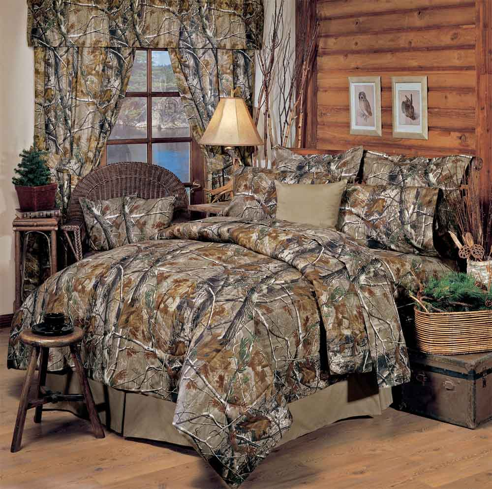 Realtree All Purpose Camo Comforter Sets Cabin And Lodge