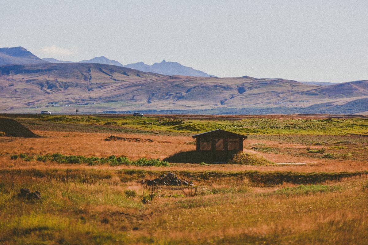 Romaniskt hotell på södra Island