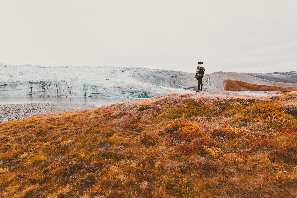 Inlandsisen på Grönland