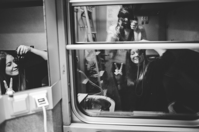 På väg: Arctic Circle Train mot Sveriges norra nejder
