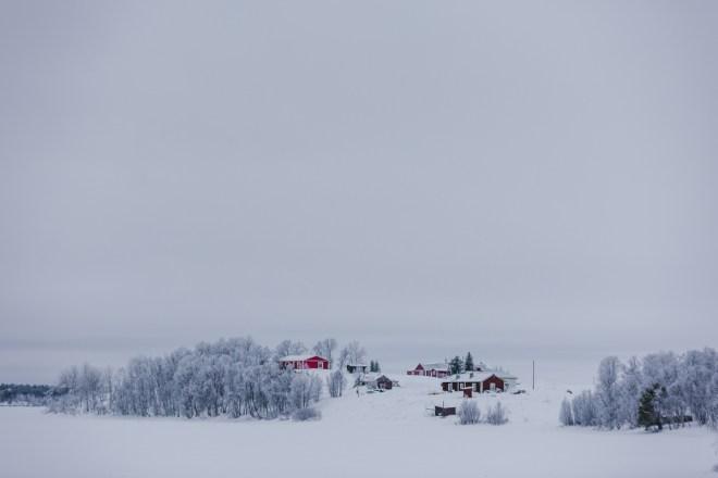 Vykort från Närvä – Lappland