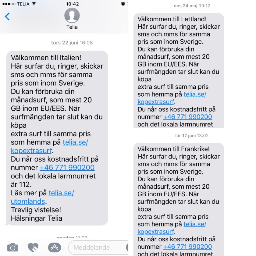 Roam like at home – Gratis internet när du reser i Europa (EU)
