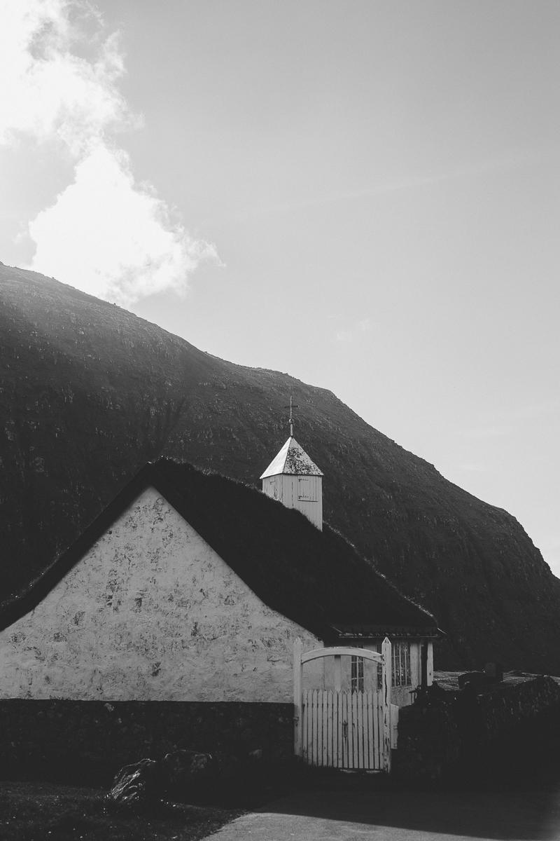 kyrka saksun färöarna