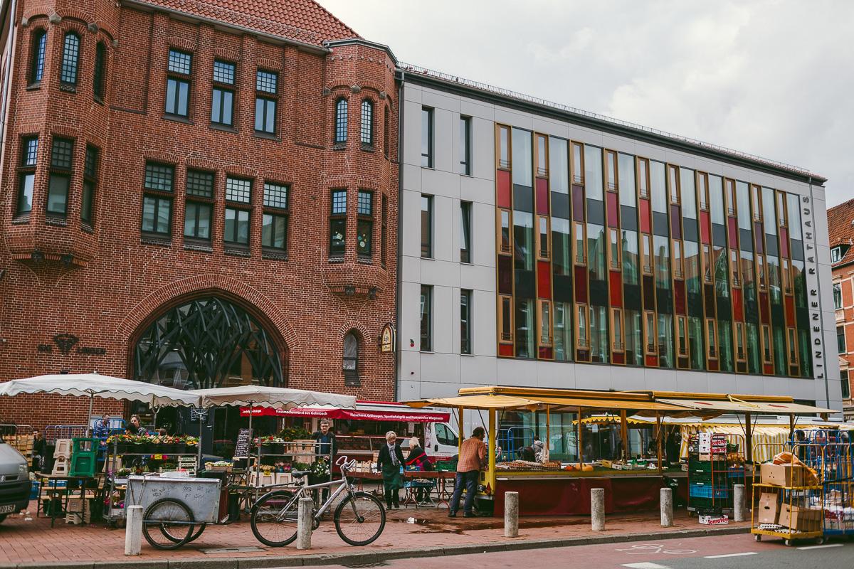 Vegetarisk mat i Hannover