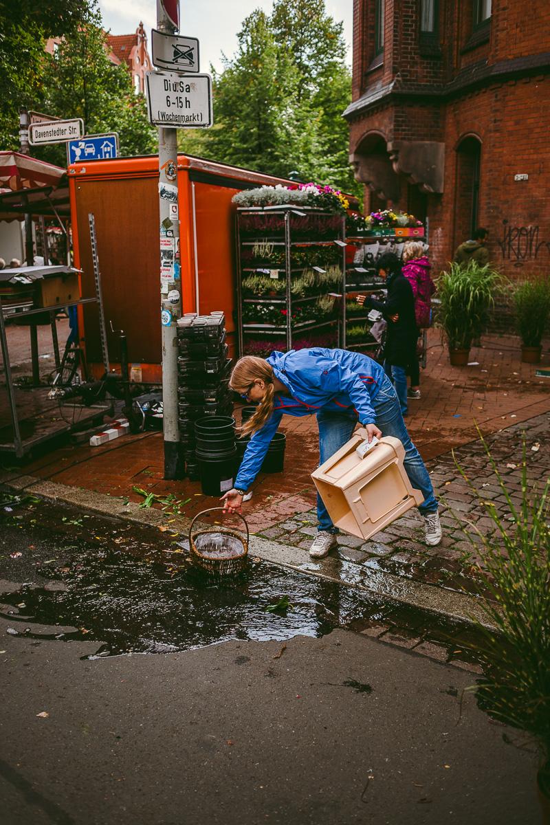 att göra i hannover wochenmarkt linden