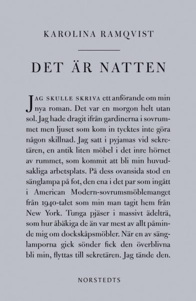 det är natten karolina ramqvist