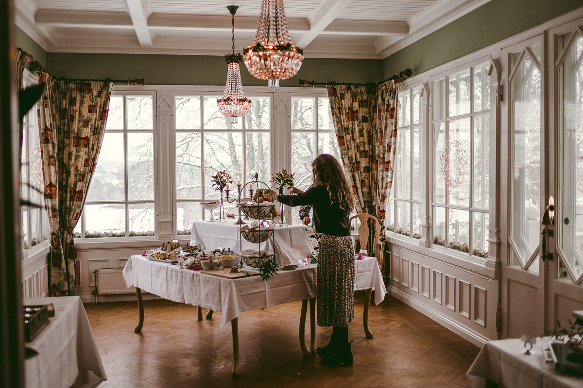 afternoon tea thorskogs slott weekend