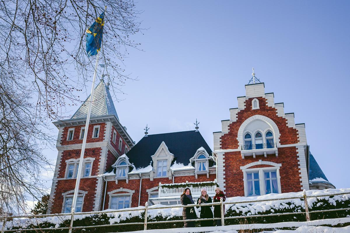 59022ed9ffda Välkomnande, romantiskt och exklusivt på samma gång, har Thorskogs nu även  haft äran att husera mig, Sofia, Lena och Jeanette, på en  slotts-vinterweekend.