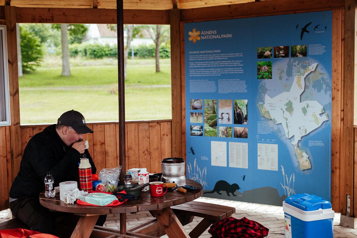 fricamping i värende vid åsnens nationalpark
