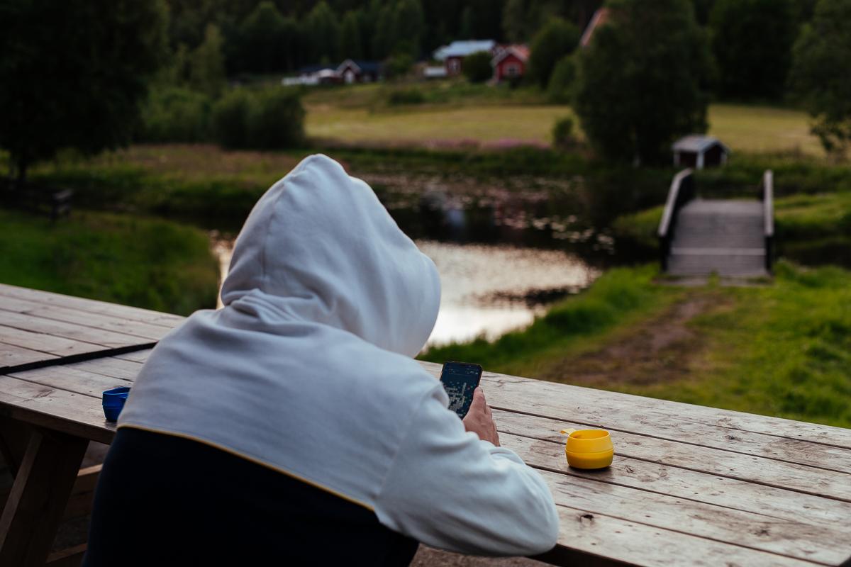 Campa i Järvsö