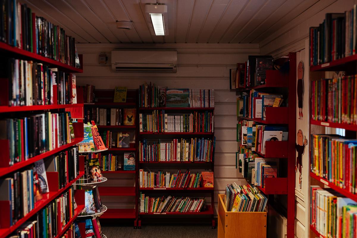 biblioteket i gäddede vildmarksvägen