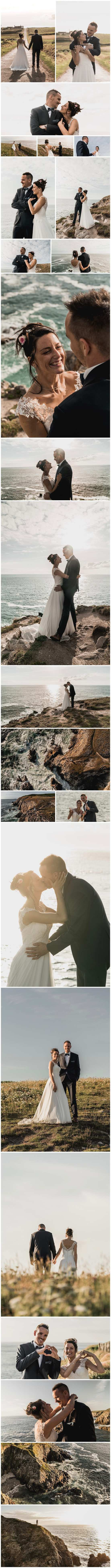 photo video mariage drone Bretagne finistère save the date