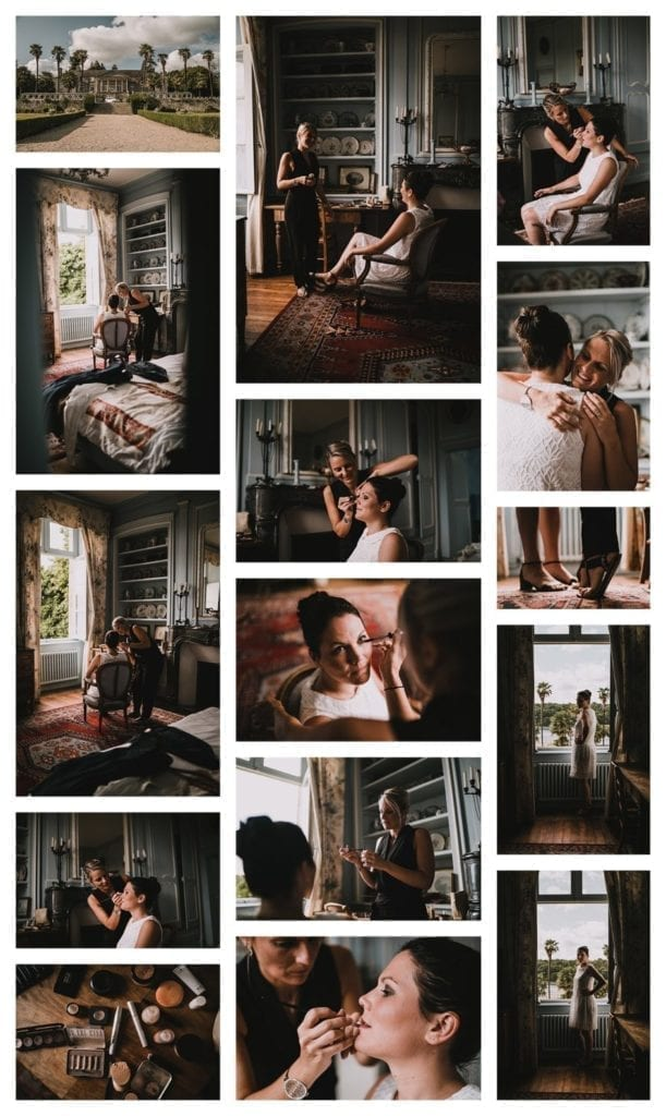 Photos de mariage domaine de l'orangerie de Lanniron à Quimper