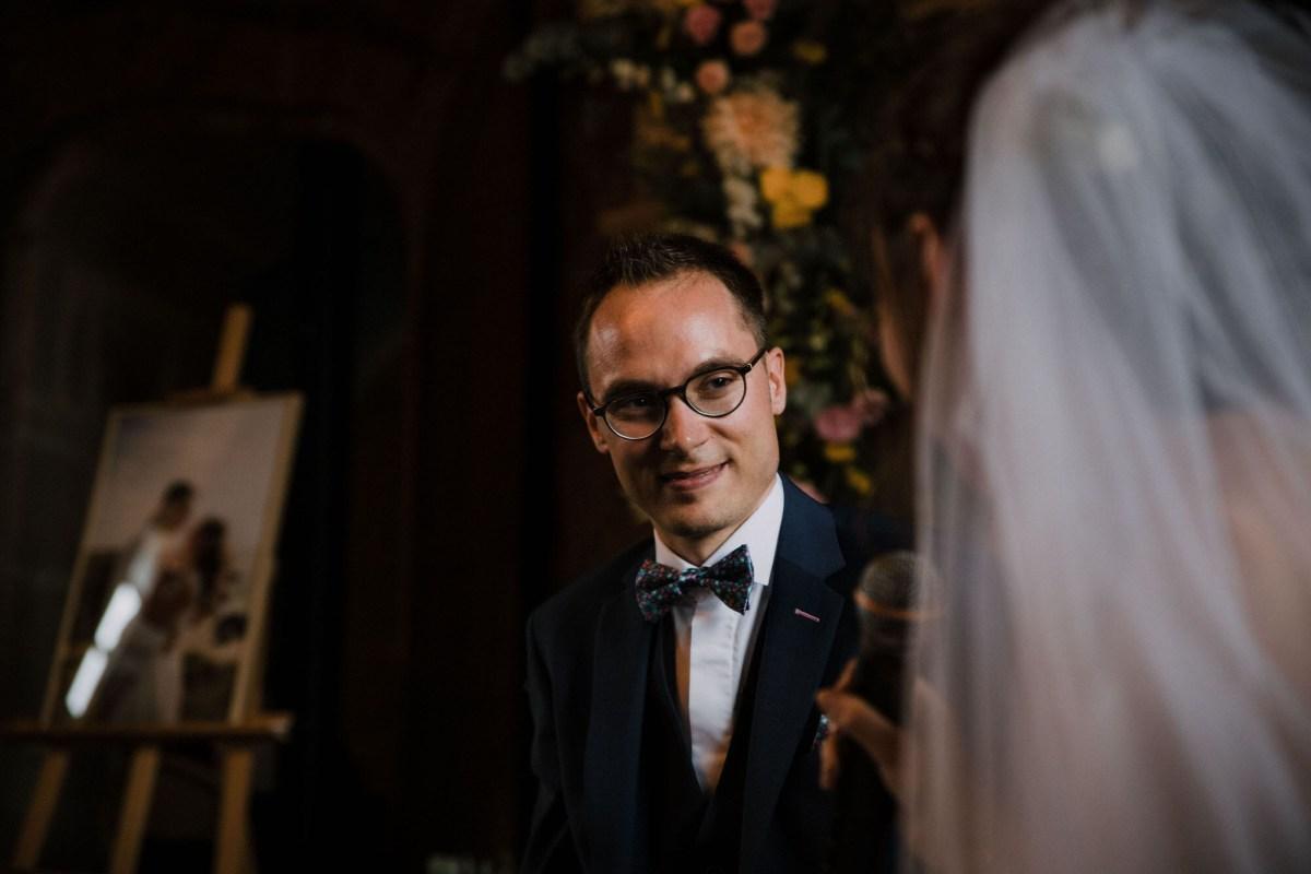 Cérémonie laïque photo de mariage au Manoir de Keroartz Lannilis