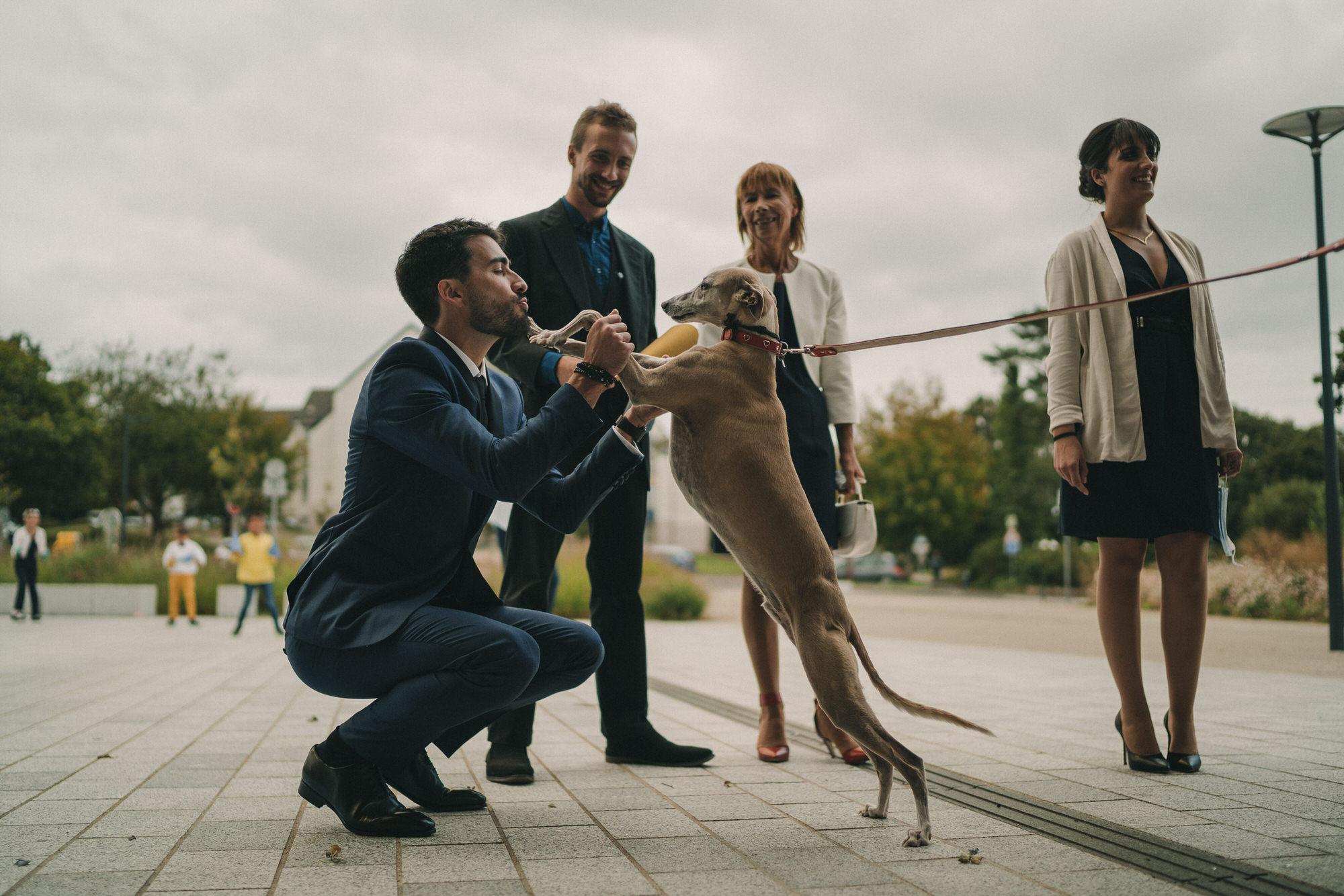 Photo de mariage mairie de Plouzané