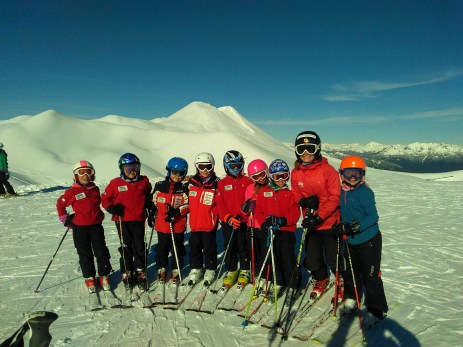 My athlete's and I in Antillanca, Chile