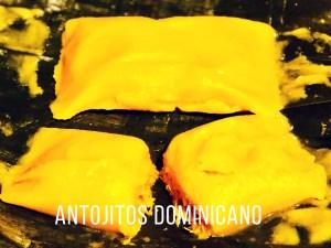 Antojitos Dominicanos en Newark New Jersey comida tipica gastronomia dominicana Pasteles de Yuca en Hoja de Plátano