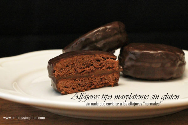 Alfajores sin gluten - tipo marplatense