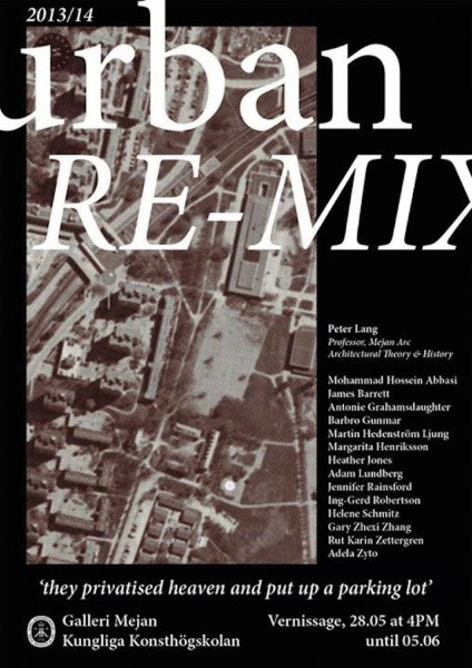 Urban Re Mix Poster
