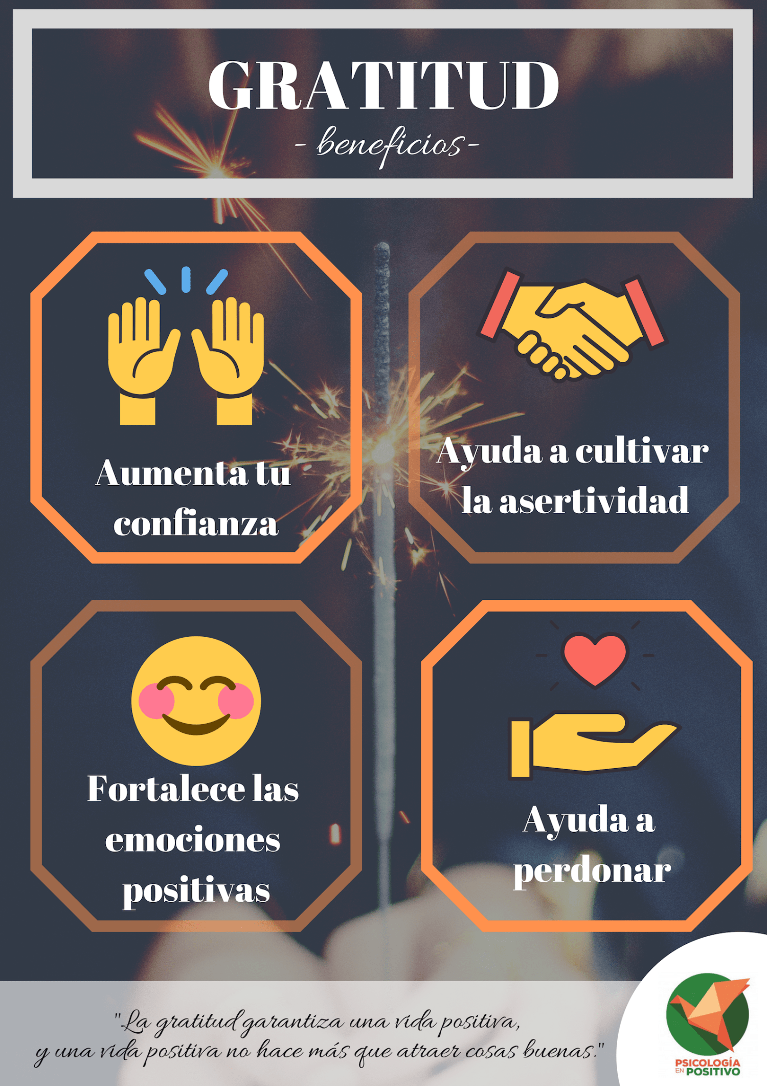 beneficios de la gratitud
