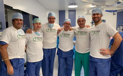 9 implants in a day: Antonini Urology Clinic the best Italian high volume private center