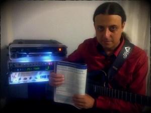 Antonio Berenato - Guitar Club Magazine Luglio-Agosto n.7-8