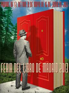Cartel de la Feria del Libro de Madrid 2013