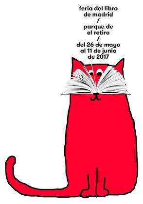 Cartel de la Feria del Libro de Madrid 2017