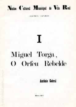 Miguel Torga o Orfeu rebelde