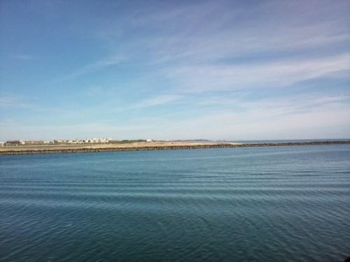Isla Cristina desde la via verde del litoral