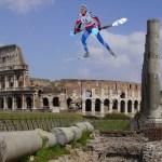 Scia chimica sul cielo di roma