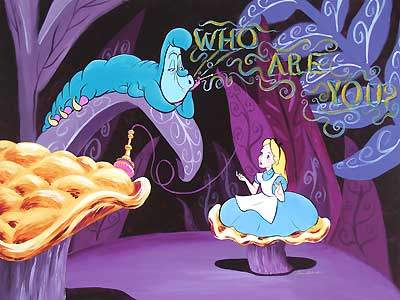 Alice in Wonderland - Who are you?