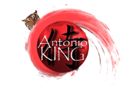 AntonioKing.com Logo Fireball