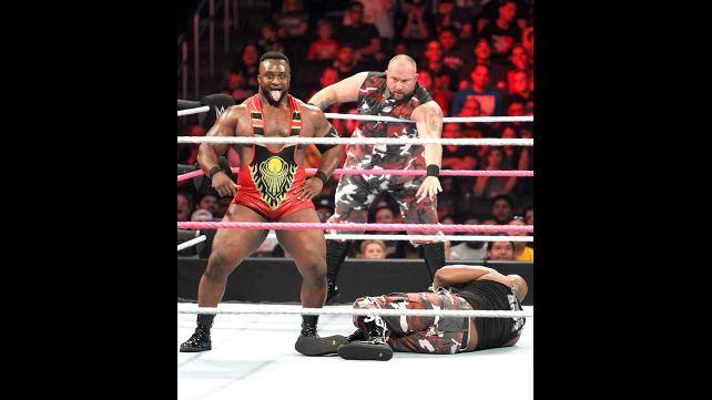 WWE Tag Team Champions The New Day def. The Dudley Boyz