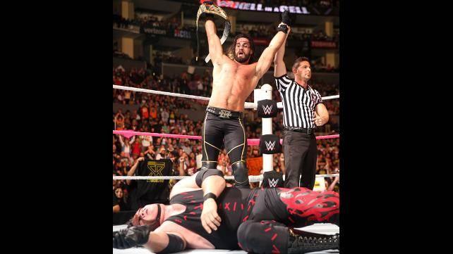 WWE World Heavyweight Champion Seth Rollins def. Kane