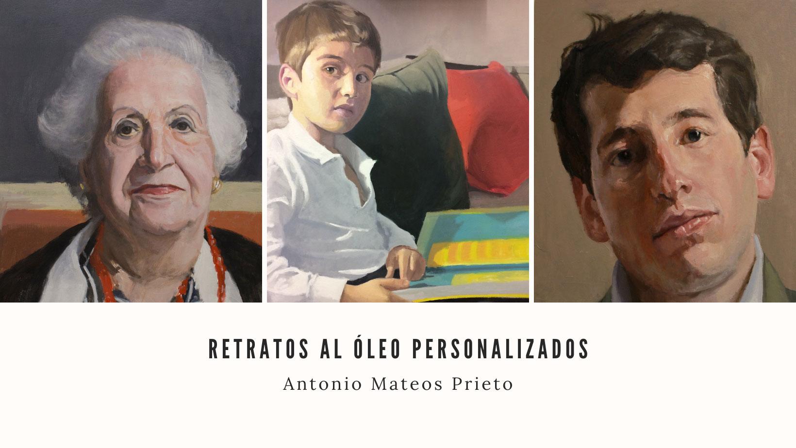 retratos al óleo personalizados