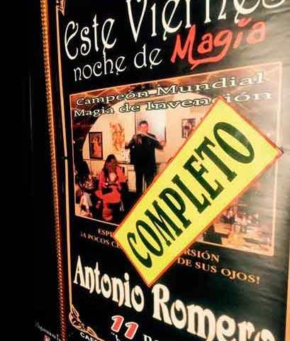 Lleno en Croché con Antonio Romero