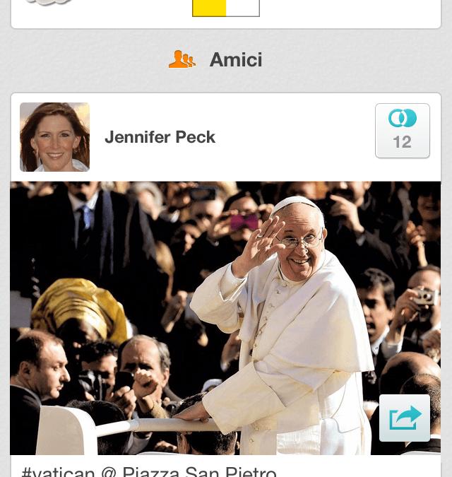 Social network conquistati da Papa Francesco: a Pasqua Banjo porta la sua community in Piazza San Pietro con un nuovo luogo personalizzato