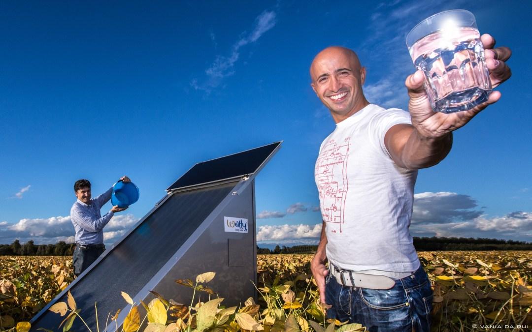 Watly la macchina che purifica l'acqua con il sole
