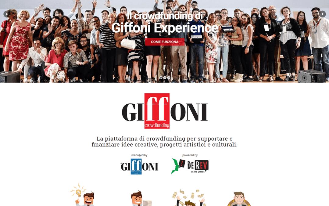 Nasce Giffoni Crowdfunding