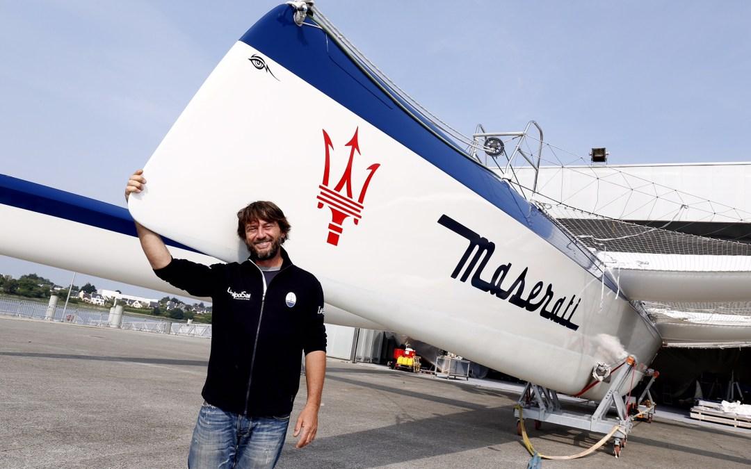 Giovanni Soldini prepara la nuova stagione sportiva con Maserati Multi70