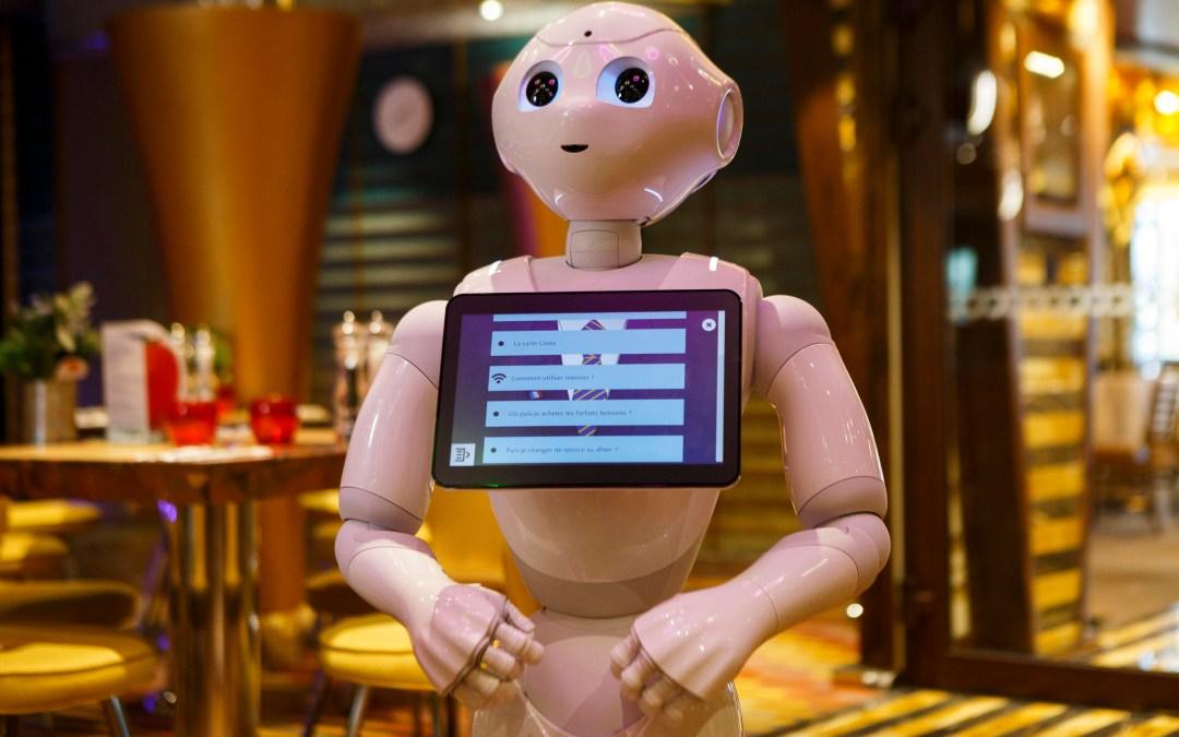 Sulla Costa DIADEMA ci sarà PEPPER,  il robot umanoide in grado di interagire con gli ospiti
