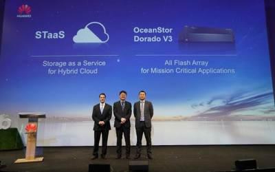 Cebit 2017: Huawei lancia la soluzione STaaS per un più agevole passaggio al Cloud
