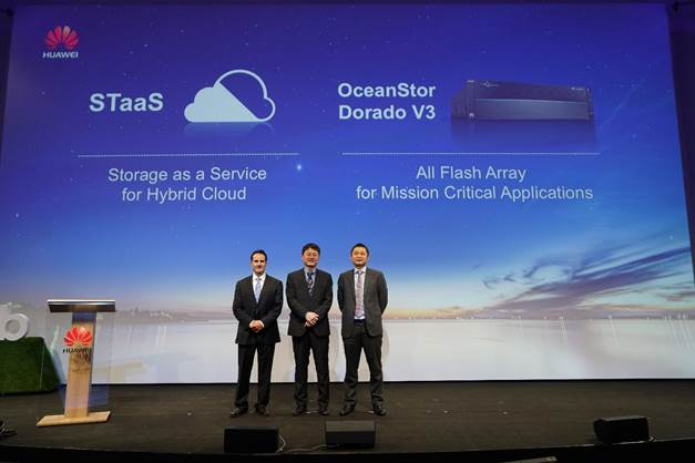 Huawei STaaS Solution Enables Smooth Transition to the Cloud