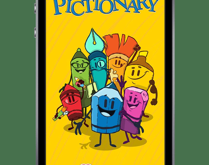 Pictionary™ lancia la prima app mobile che permette ai suoi fan di disegnare ovunque
