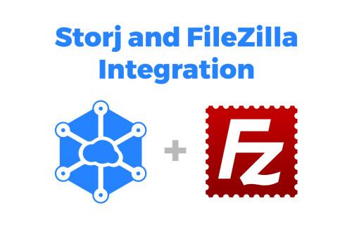 Filezilla e Storj, la blockchain avanza!