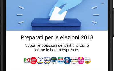 Facebook lancia in Italia, in vista delle elezioni, una serie di strumenti a supporto della partecipazione civica