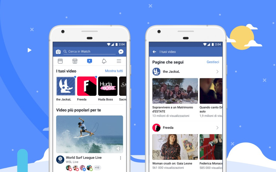 Facebook Watch si espande a livello globale
