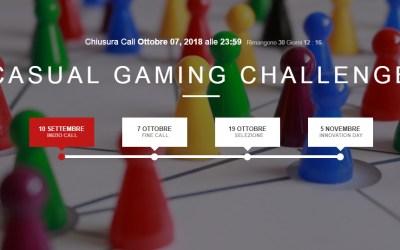 DIGITAL MAGICS LANCIACASUAL GAMING CHALLENGE:  CALL PER LE STARTUP CHE CREANO GIOCHI DIGITALI PER SMARTPHONE E TABLET